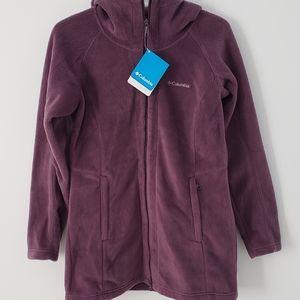 NWT Columbia zip up fleece